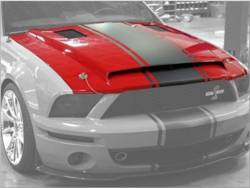 Shelby Performance Parts - 07 - 09 Mustang Shelby GT500 Super Snake Hood