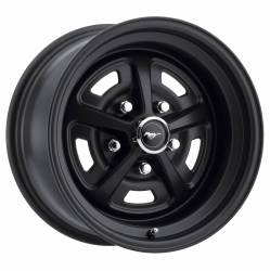 Wheels - 17 Inch - Legendary Wheel Co. - 64 - 73 Mustang 17x7 Magnum 500 Alloy Wheel- Stealth Black