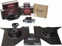 1964-1973 Mustang Parts - 1964-1973 New Products - RetroSound - 64 - 66 Mustang RetroSound Standard System