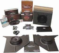 1964-1973 Mustang Parts - 1964-1973 New Products - RetroSound - 64 - 66 Mustang RetroSound Premium System