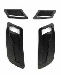 Carbon Fiber - Hood & Related - Shelby Performance Parts - 2015 - 2017 Mustang Carbon Fiber Hood Vent Set