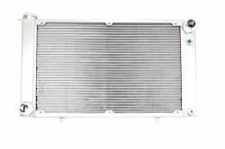 C & R Racing - 67 - 70 Mustang Aluminum Radiator, HHP Small & Big Block Engines