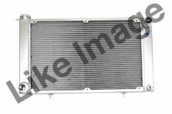 Radiators - 2 - Core - C & R Racing - 67 - 70 Mustang Aluminum Radiator, HHP Small & Big Block Engines