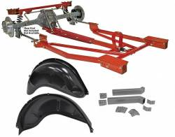 Total Cost Involved - 65-70 Mustang TCI 3 Link Rear Torque Arm Kit, Mini Tub Version