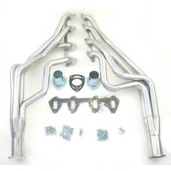 Exhaust - Headers - Doug's Headers - 67 - 70 Mustang 390 - 427 FE Long Tube Headers, Silver Ceramic Coated