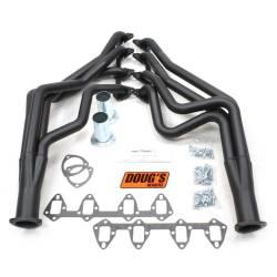 Exhaust - Headers - Doug's Headers - 67 - 70 Mustang 390 - 427 FE Long Tube Headers, Black