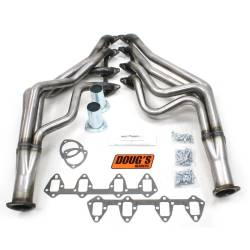 Doug's Headers - 67 - 70 Mustang 390 - 427 FE Long Tube Headers, Raw Steel