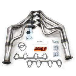 Exhaust - Headers - Doug's Headers - 67 - 70 Mustang 390 - 427 FE Long Tube Headers, Raw Steel