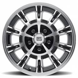 Legendary Wheel Co. - 65 - 73 Mustang 15X7 Legendary GT6 10 Spoke Alloy Wheel, Shelby GT-350 Style