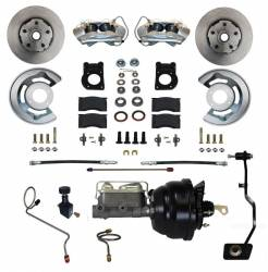 Master Cylinders & Boosters - Power Brake Boosters - Scott Drake - 1970 Mustang Disc Brake Conversion Kit, for Manual Trans