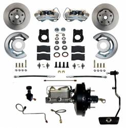 Master Cylinders & Boosters - Power Brake Boosters - Scott Drake - 1970 Mustang Power Disc Brake Conversion Kit, DS for AutomaticTrans