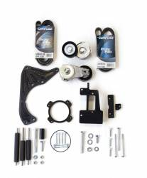 Engine - Engine Pulleys & Brackets - Stang-Aholics - 1965 - 1970, 1996-2010 Mustang 5.0L Coyote Swap Accessory Bracket Kit