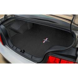 Lloyd Mats - 05 - 06 MUSTANG CONVERTIBLE Trunk Mat: Pony and Bars