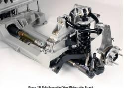 Detroit Speed - 65 - 70 Mustang Detroit Speed Aluma-Frame Front Suspension Kit, Single Adjustable Shocks - Image 6