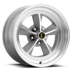 Wheels - 17 Inch - Scott Drake - 17 x 7 Legendary GT9 Alloy Wheel, 5 on 4.5 BP, 4.25 BS, Natural