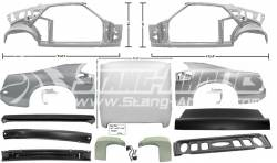 Dynacorn - 69 Mustang Coupe to Fastback Sheet Metal Conversion Kit