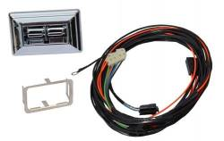 Nu Relics Power Windows - 69 - 70 Mustang Power Window Kit- Chrome Switch, Console Mount - Image 2