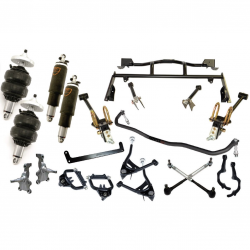 RideTech - 64 - 66 Mustang RideTech ShockWave Suspension Kit, with TruTurn System