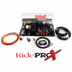 Suspension - Air Ride & Related - RideTech - Ride Tech 3 Gallon AirPod With RidePro X Control System Mounted on Platform