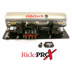 Suspension - Air Ride & Related - RideTech - Ride Tech 5 Gallon AirPod With RidePro X Control System Mounted on Platform