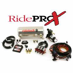 Suspension - Air Ride & Related - RideTech - RidePRO-X 3 Gal Leveling and Compressor System