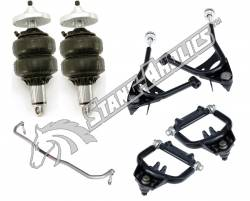 Suspension - Air Ride & Related - RideTech - 67 68 69 70 Mustang RideTech Strong Arm and Shockwave Front Suspension Package