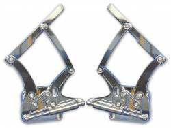Eddie Motor Sports - 1967 - 1968 Mustang Billet Hood Hinges