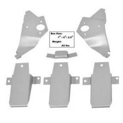 Dynacorn - 1967 - 1968 Mustang Dynacorn Fastback Roof Bracket Set, 6 Piece