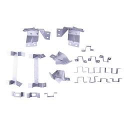 Dynacorn - 1967 - 1968 Mustang Dynacorn Fastback Roof Trim Bracket Set, 21 Piece