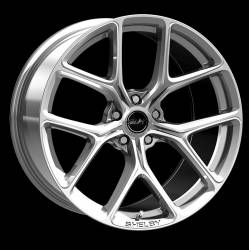 Shelby Wheel Co - 05 - 18 Mustang 20 X 9.5 CS 3 Style Shelby Wheels, Chrome Powder