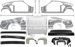 Body - Fastback Conversion Kits - Dynacorn - 69 Mustang Coupe to Fastback Sheet Metal Conversion Kit
