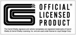 Scott Drake - 1964 - 1973, 1979-1981, 1994-2013 Mustang  Official CS Shelby Emblem - Image 2