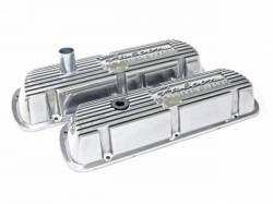 Engine - Valve Covers - Scott Drake - Falcon Polished Aluminum Valve Covers (Pair)