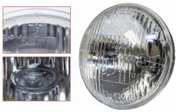 Electrical & Lighting - Headlights - Scott Drake - 1969 Mustang or 67 Shelby High/Low Beam Halogen Headlight