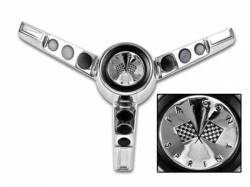 Steering Wheel & Related - Horn & Related - Scott Drake - 63-64 Falcon Horn Button (Generator)