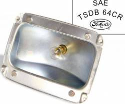 Electrical & Lighting - Tail Lights - Scott Drake - 65 - 66 Mustang Tail Light Housing, FoMoCo