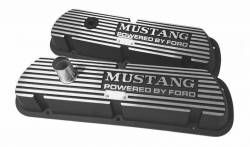 Engine - Valve Covers - Scott Drake - 65-73 Aluminum Valve Cover Mustang Block Letters