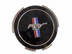 Wheels - Hub Caps & Trim Rings - Scott Drake - 1966 Mustang Standard Hub Cap Center Emblem (66)