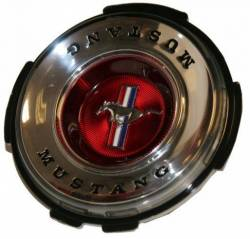 Wheels - Hub Caps & Trim Rings - Scott Drake - 1967 Mustang Wheel Cover Emblem