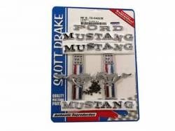 Emblems - Kits - Scott Drake - 1967 Mustang Emblem Kit 390