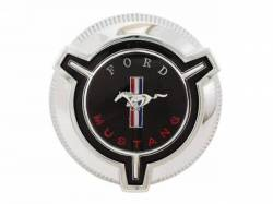 Body - Tail Light Panels - Scott Drake - 1967 Mustang Standard Fuel Cap