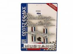 Emblems - Kits - Scott Drake - 1968 Mustang Emblem Kit (200 6 Cylinder)
