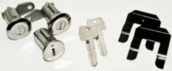 Locks & Ignition - Ignition & Related - Scott Drake - 67 - 69 Mustang Ignition Lock Set, Pony Keys