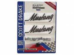 Emblems - Kits - Scott Drake - 69-72 Mustang Emblem Kit (All Body Styles All Engines)