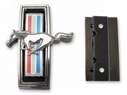 Grille - Corrals & Emblems - Scott Drake - 1969 Mustang Horse Emblem (with Mounting Kit)