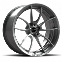 Shelby Wheel Co - 05 - 19 Mustang GT350 and GT350R ONLY 19 X 10.5 CS 21 Style Shelby Wheels, Brushed Aluminum