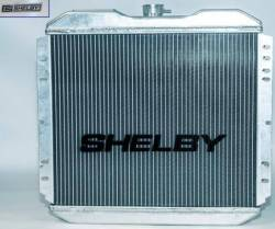 Radiators - 2 - Core - Scott Drake - 65 - 66 Mustang Shelby Aluminum Radiator A/T