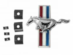 Emblems - Shelby - Scott Drake - 1966 Mustang Shelby GT Grill Emblem  and Retainers