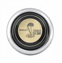 Steering Wheel & Related - Horn & Related - Scott Drake - 65 - 73 Mustang Concours Reproduction Shelby GT350 Steering Wheel Horn Button