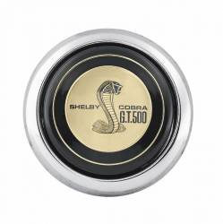 Steering Wheel & Related - Horn & Related - Scott Drake - 65 - 73 Mustang Concours Reproduction Shelby GT500 Steering Wheel Horn Button